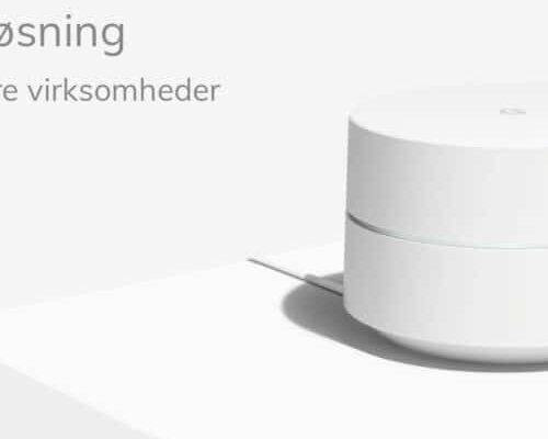 Google Wifi – Perfekt løsning til den lille og mellemstore virksomhed