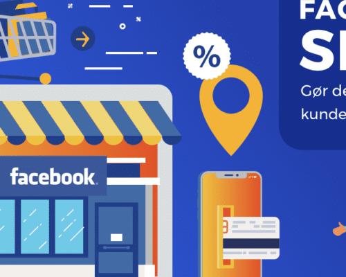 Sælg produkter/varer direkte fra din webshop på Facebook